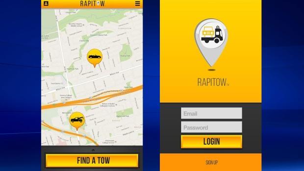 'Like Uber for tow trucks': New app summons roadside ...