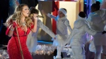 Mariah Carey performs at the 82nd Annual Rockefeller Center Christmas Tree Lighting Ceremony on Wednesday, Dec. 3, 2014. (Charles Sykes / Invision)