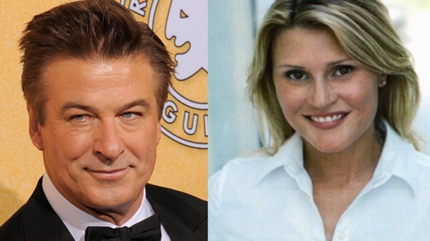 Alec Baldwin seen in an AP file photo alongside alleged stalker Genevieve Sabourin.