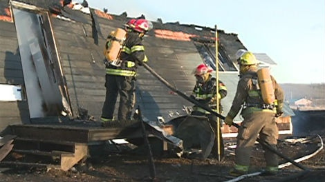 A fire Sunday destroyed a home on the Sturgeon Lake First Nation northwest of Prince Albert.