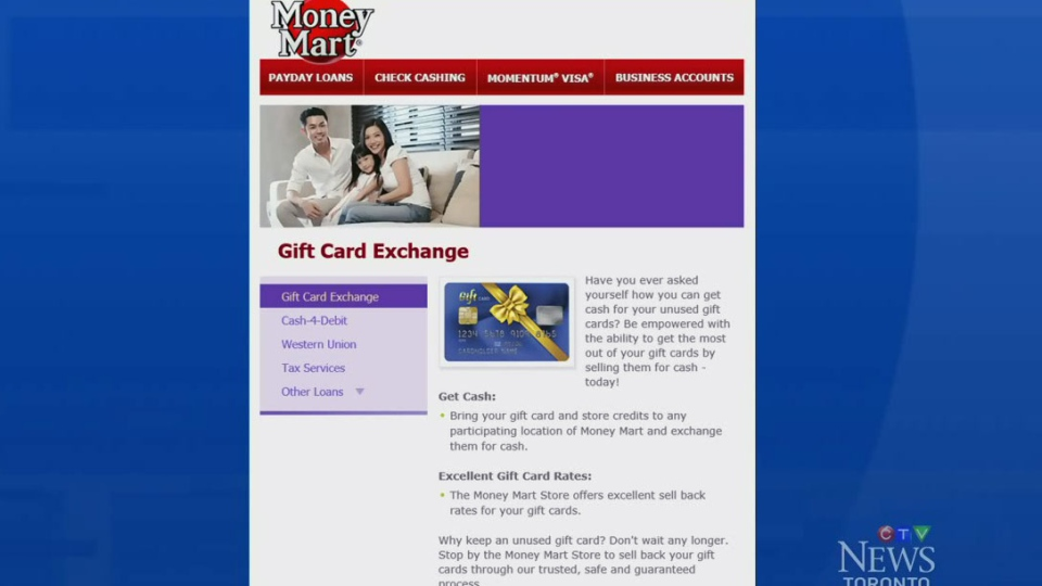 Money Mart's controversial gift card for cash offer ends; 3 things ...