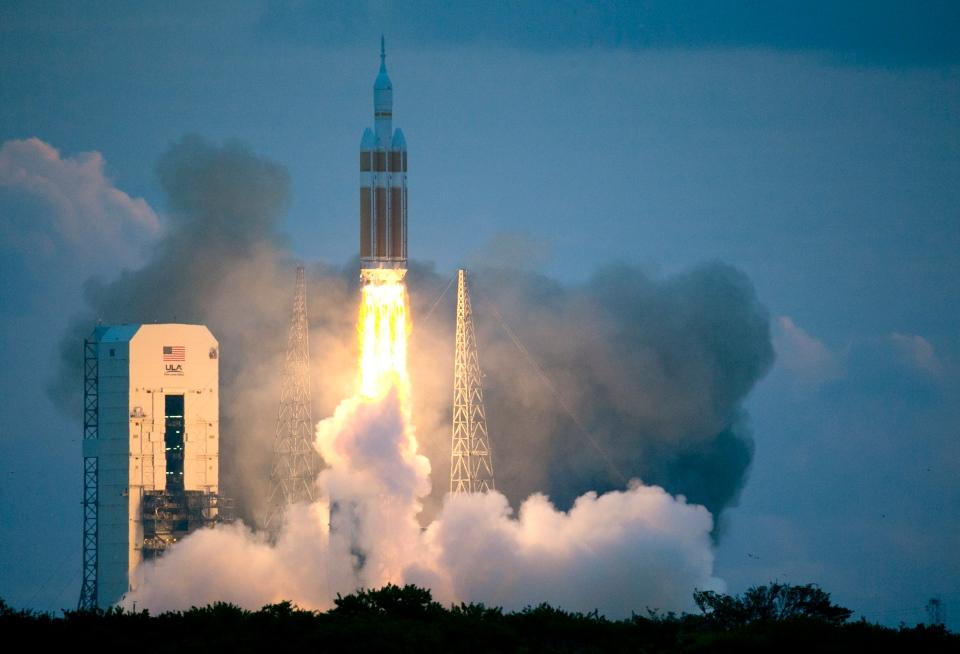 nasa orion rocket before lift off - photo #2