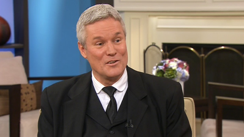 'RMS Titanic' author Hugh Brewster appears on CTV's Canada AM Monday, April 9, 2012.