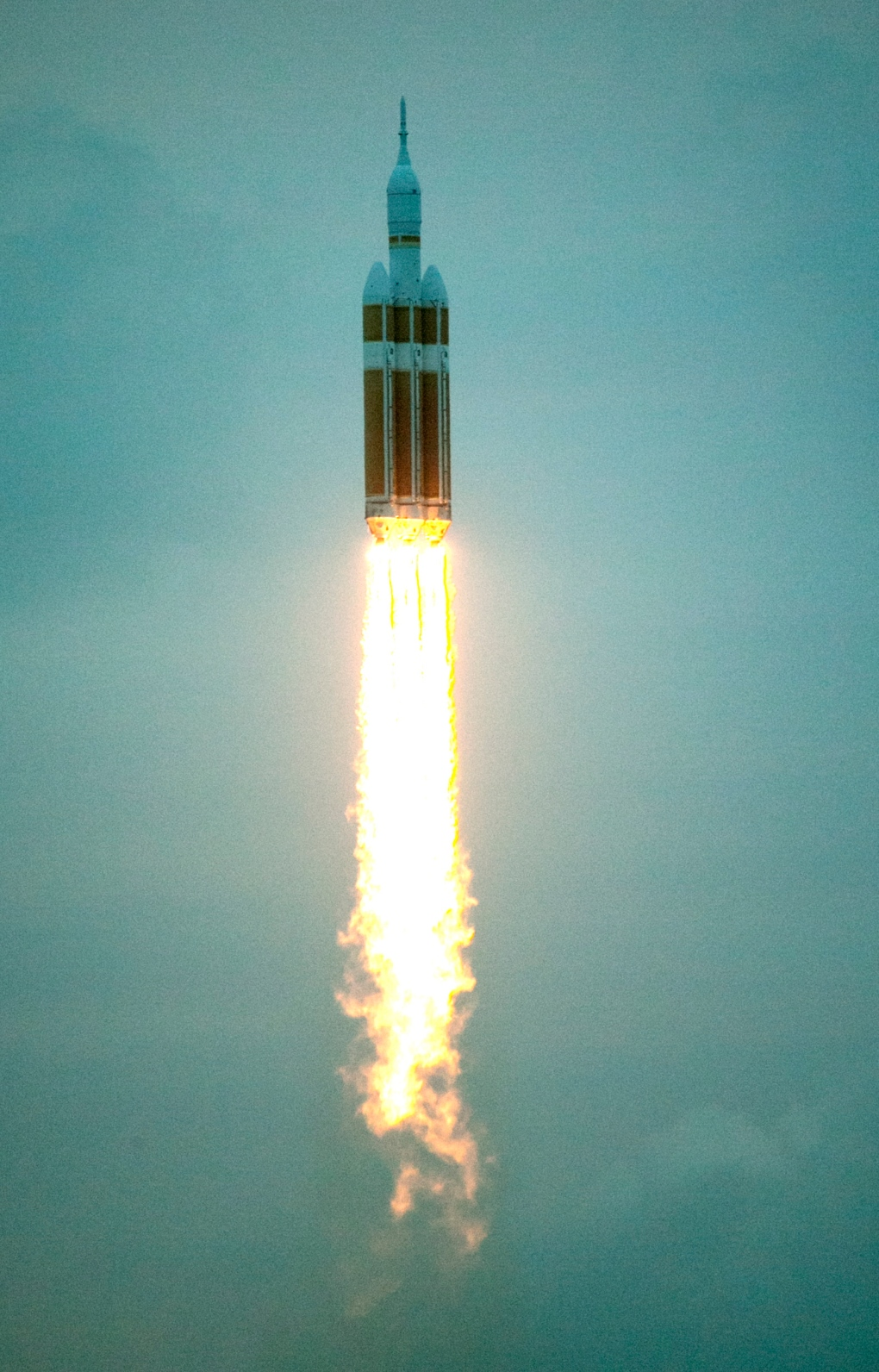orion spacecraft launches into space ctv news