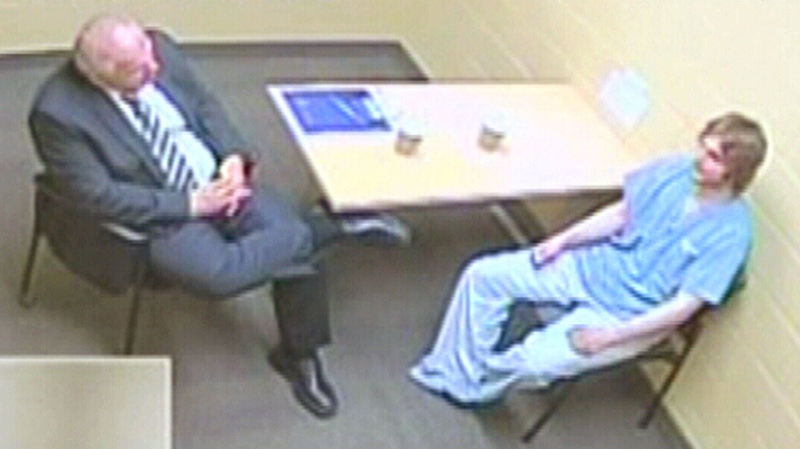 Justin Bourque interrogation video