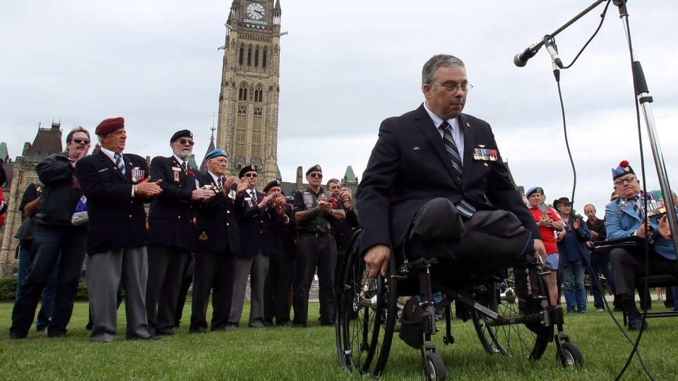 Disabled Vets Canadian Tragedy