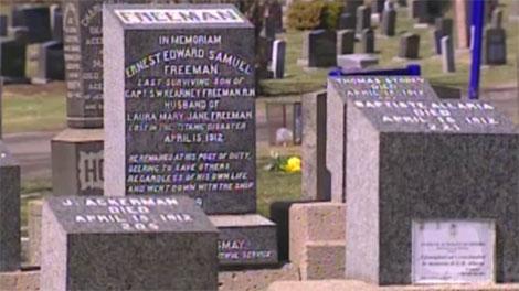 halifax, titanic, graves, cemetery