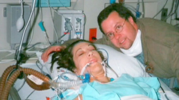Margaret Benson speaks to Canada AM about life after a double lung transplant, Tuesday, April 10, 2012.
