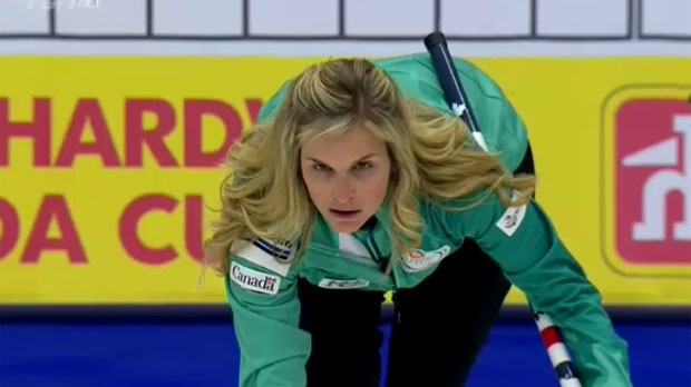 Ontario's Rachel Homan beat Winnipeg's Jennifer Jones on Sunday. (File Photo)