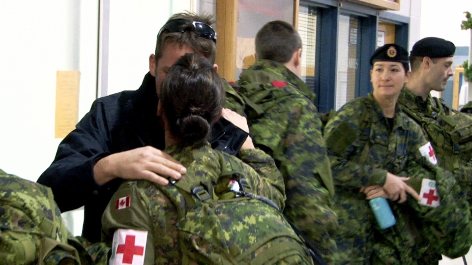 A Canadian Armed Forces medical team is heading to Ebola-stricken Sierra Leone to join the fight against the deadly virus.