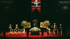 Canadians pay tribute to Jean Beliveau