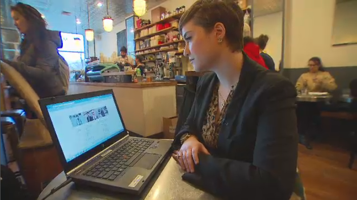 In Quebec, shoppers like Amy Dessaulles have discovered  language laws stand in the way of them shopping online at several large retailers.
