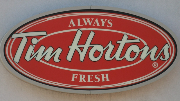 The Tim Hortons logo