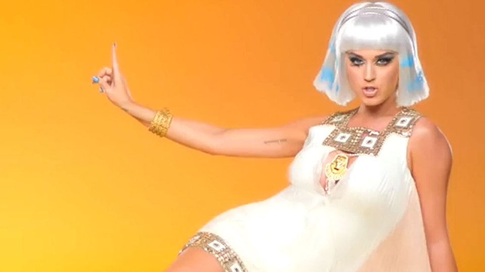 Katy Perry's 'Dark Horse ft. Juicy J' was one of the most popular YouTube videos in Canada for 2014.