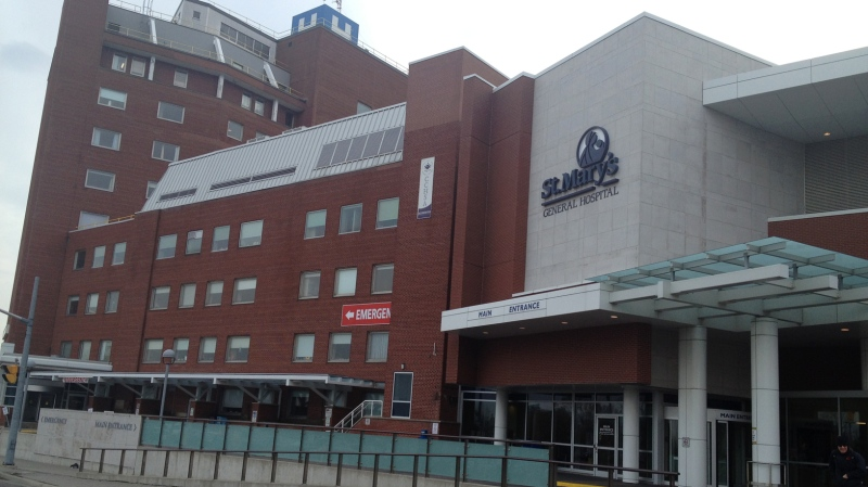 St. Mary's General Hospital in Kitchener is seen here in this file photo.
