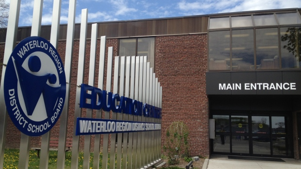 The Waterloo Region District School Board administration building is seen on Thursday, May 9, 2013. (David Imrie / CTV Kitchener)