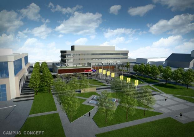 New Windsor city hall