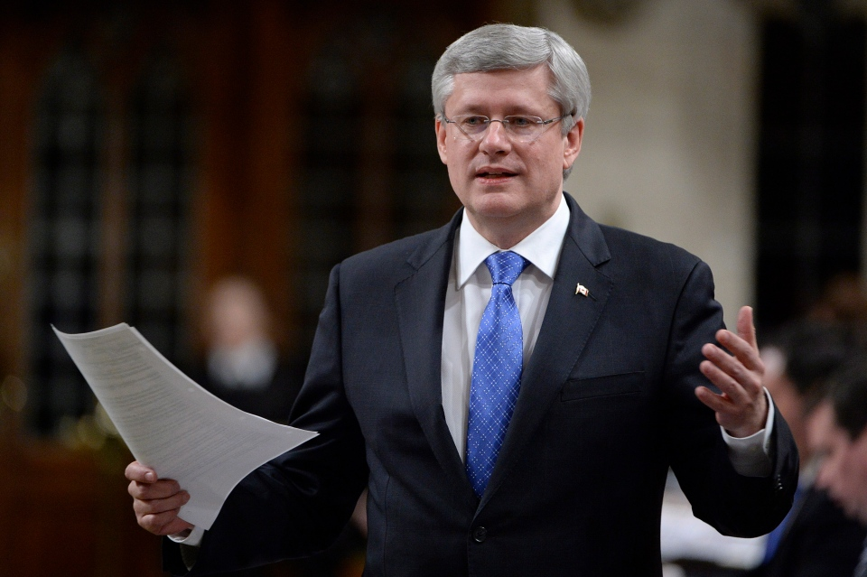 Prime Minister Stephen Harper answers a question during question period in the House of Commons on Tuesday, Dec. 9, 2014 in Ottawa. (Adrian Wyld / THE CANADIAN PRESS)