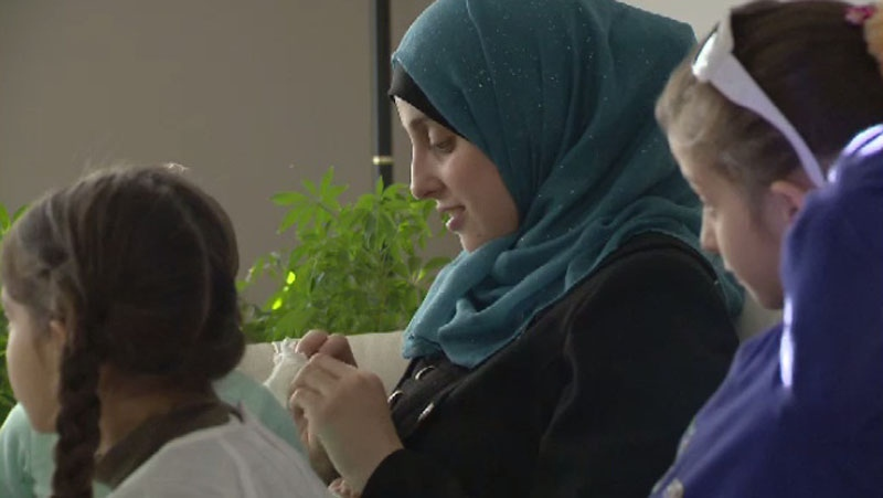 The members of this Syrian family are among the first privately-sponsored refugees to come to Nova Scotia from the war-torn country.