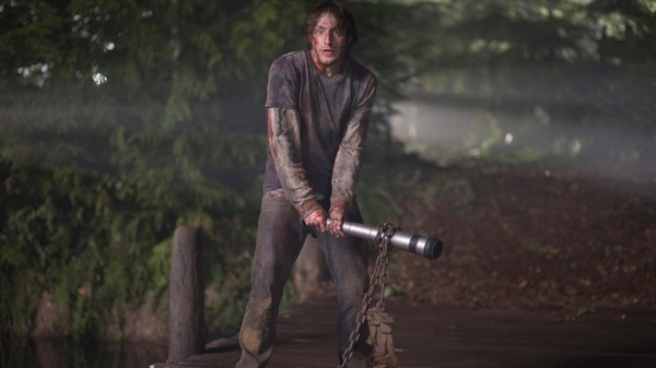 Fran Kranz is shown in a scene from Alliance Atlantis's 'The Cabin in the Woods.'