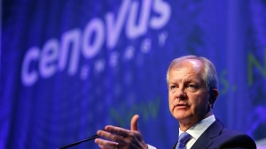Brian Ferguson, president and CEO of Cenovus Energy, in Calgary, on April 25, 2012.(THE CANADIAN PRESS / Jeff McIntosh)