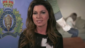 Shania Twain in RCMP public service announcement: 'You can break the silence. There is always someone who can help.' (Youtube)