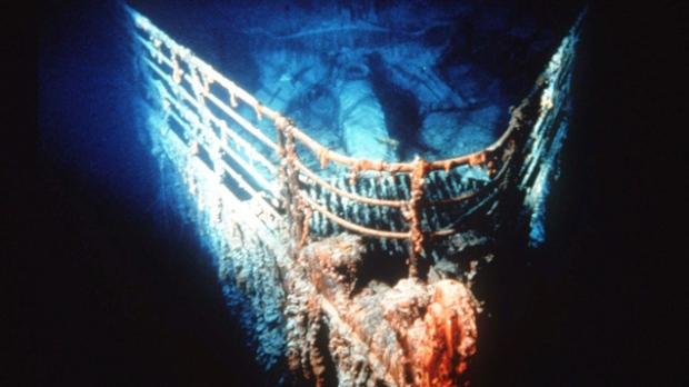 titanic wreck