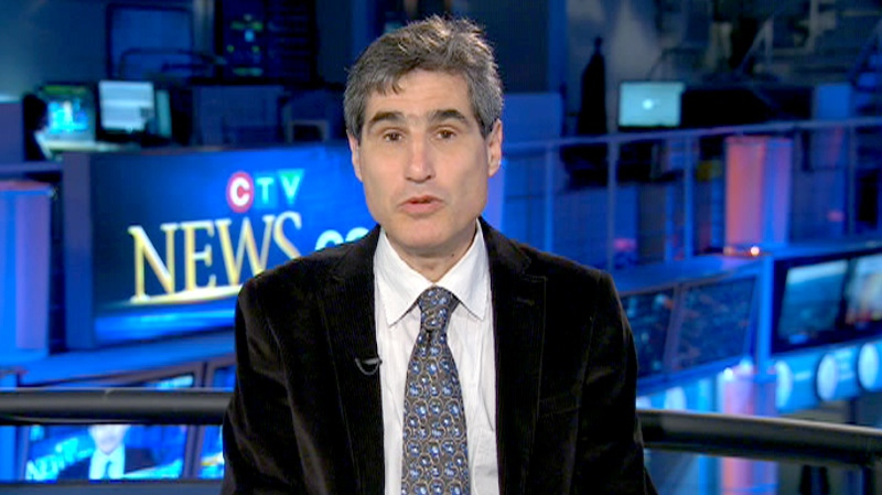 Jeremy Paltiel, political science professor at Carleton University, speaks on Canada AM, Friday, April 13, 2012.