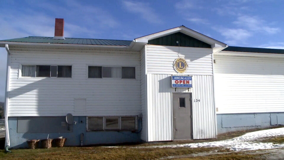 The Nackawic Community Hall in Nackawic, N.B., is seen on Thursday, Dec. 11, 2014.