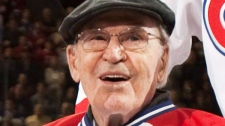 Former Montreal Canadiens captain Emile Bouchard