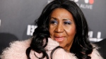 Aretha Franklin attends Keep a Child Alive's 2014 Black Ball at the Hammerstein Ballroom on Oct. 30, 2014, in New York. (Invision / Andy Kropa)