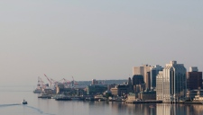 The Halifax skyline is seen from Dartmouth, N.S., on Saturday August 15, 2009. (Adrian Wyld/TCPI/THE CANADIAN PRESS)