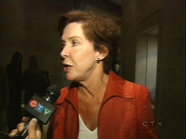 Ontario's Culture Minister Aileen Carroll speaks with CTV Toronto from the ROM on Wednesday, Sept. 24, 2008.