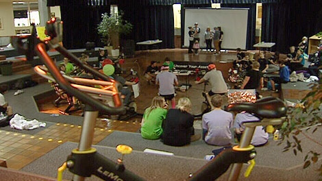 A 24 hour bike-a-thon was held over the weekend in Beaumont to support Mothers Against Drunk Driving