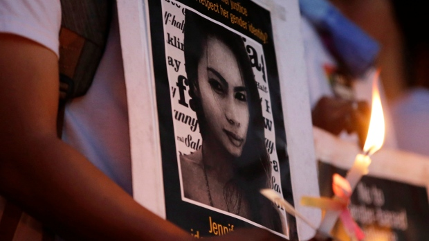 jennifer laude transgender woman murdered