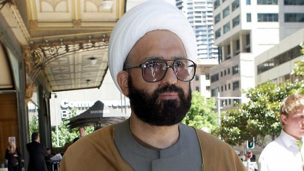 Man Monis, the suspect in a standoff in Sydney, Australia, is seen in this undated image. (Australian police)