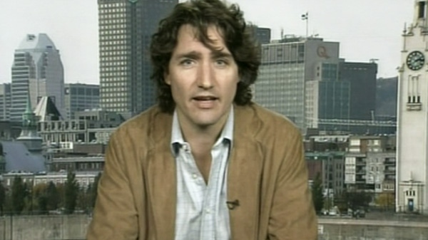 Liberal MP Justin Trudeau speaks with CTV's Question Period on Sunday, April 15, 2012.