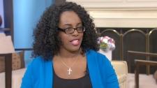Shadonna Richards, an ebook entrepreneur, speaks to Canada AM, Monday, April 16, 2012.