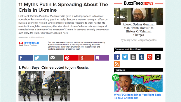 BuzzFeed Department of Foreign Affairs