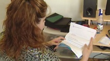Tracey Thibert said her $8,500 loan grew to become a debt of more than $20,000 since 2005.
