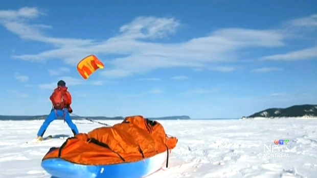 CTV Montreal: Trekking to centre of Antarctica