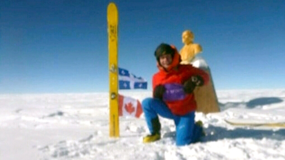 Quebec Man Becomes First Person To Reach South Pole By