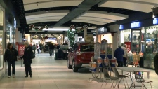 Mall management says they welcome non-profit group
