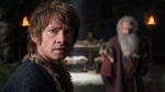 Martin Freeman in a scene from 'The Hobbit: The Battle of the Five Armies.' (AP / Warner Bros. Pictures, Mark Pokorny)