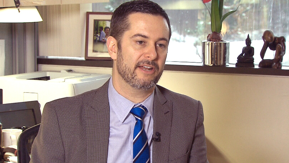 Study co-author Dr. Ian Colman, a professor of mental health epidemiology at the University of Ottawa, speaks to CTV about the impact of violence in cartoons on children, Tuesday, Dec. 16, 2014.