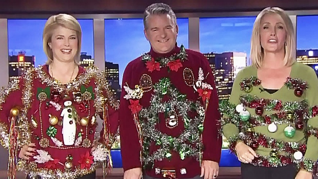 Now that s ugly! Do-it-yourself Christmas sweaters on the cheap ... 526181463