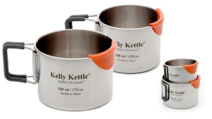Kelly Kettle Stainless Steel Mug Set