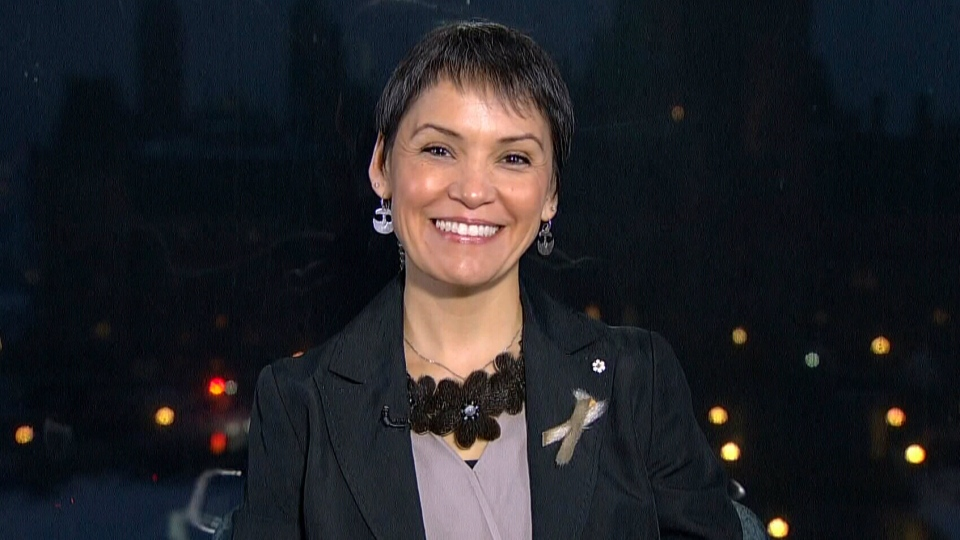 Canadian singer Susan Aglukark appears on Canada AM Wednesday, Dec. 17, 2014.