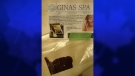 This brown substance is not really facial cream and does not really come from Gina's Spa, Waterloo Regional Police say.