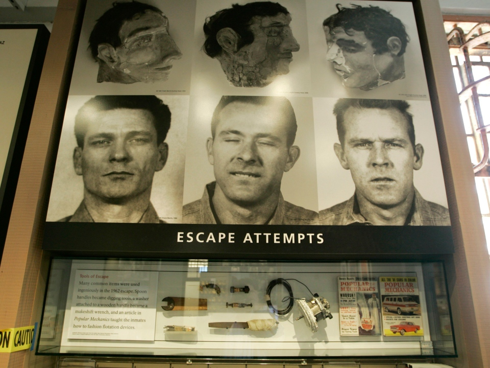 alcatraz history of escape attempts essay Lonely island: hidden alcatraz lesson plans title: living on alcatraz grade levels: 4 through 12 subject area(s): science, social studies/history, language arts, visual arts write expository compositions, including analytical essays and devise an escape attempt from alcatraz, as if you were a prisoner.